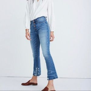 Cali Demi-Boot Jeans in Bess Wash Size 27